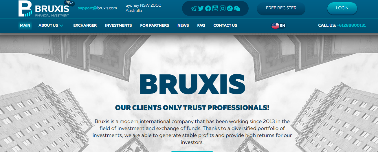 Bruxis - OUR CLIENTS ONLY TRUST PROFESSIONALS!