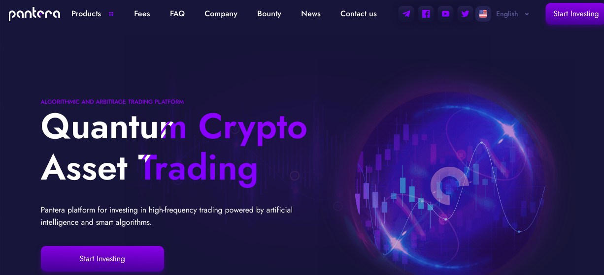 Pantera - high- frequency trading on cryptocurrency exchanges