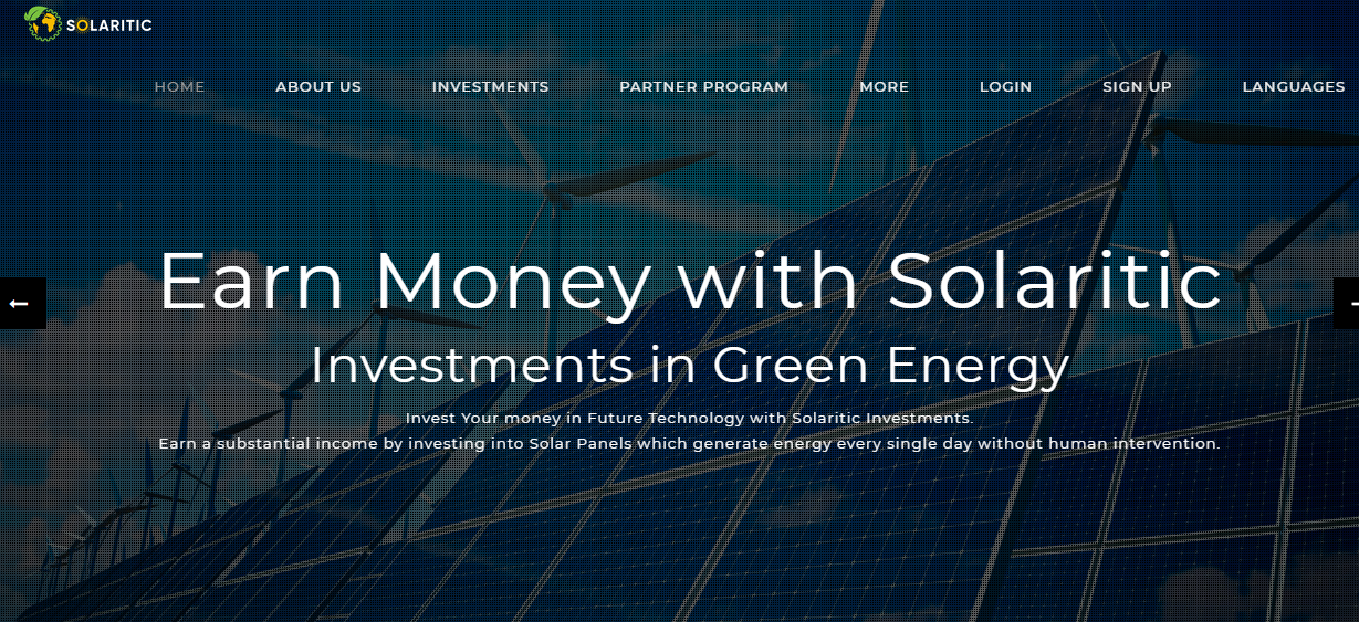 Solaritic- Investments in Green Energy