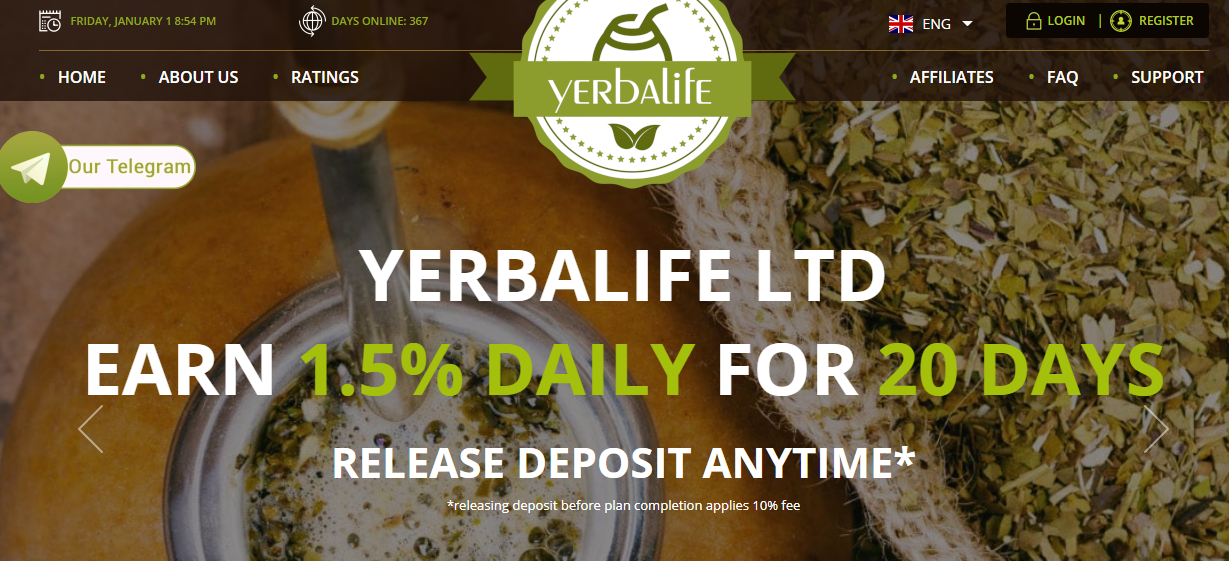 Yerbalife - cultivation and wholesale of Yerba Mate